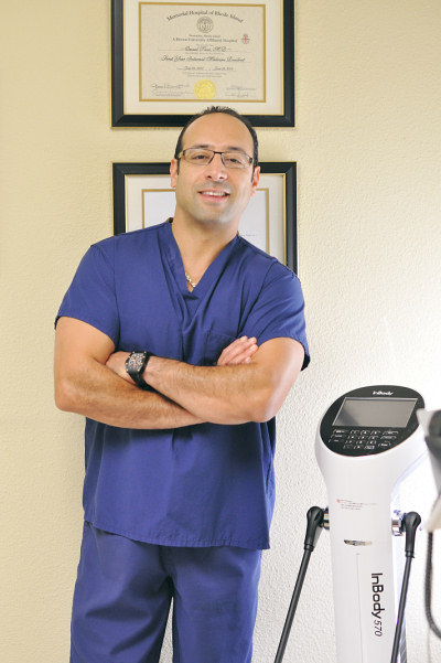 Dr. Omeed Sani health and beauty physician